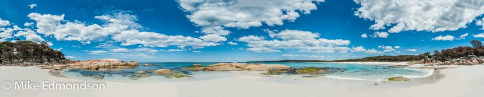 Bay Of Fires Crystal clear water , sand & skies
