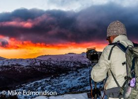 Another great photographic winter sunset tour
