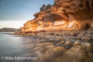 Painted Cliffs. Maria Island