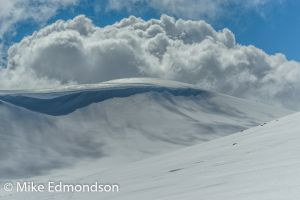 Clouds above Mt Kosciuszko