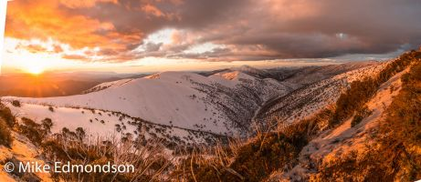 Mt. Feathertop sunset